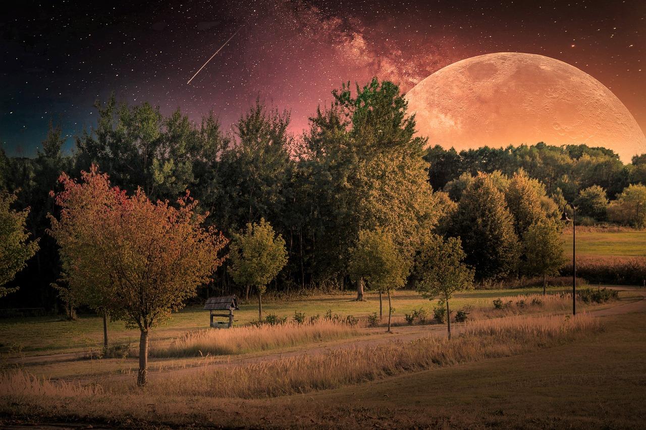 Лучшие фото недели рамблер пейзаж луна