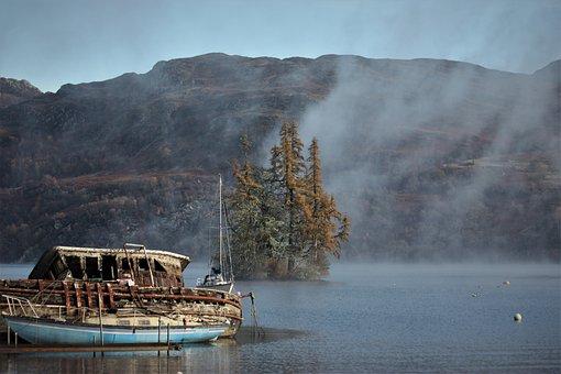 Lake, Loch Ness, Nessie, Scotland