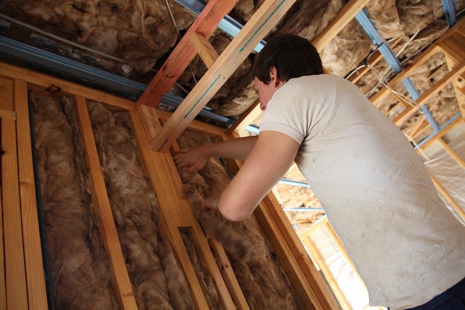 エネルギー効率, 断熱材, 持続可能な, 安全, ミネラルウール, フレーム, 家, ホーム, 建設
