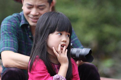 女の子, Ha Noi, ベトナム, ボート, 休日, 川, フォ塔, 観光
