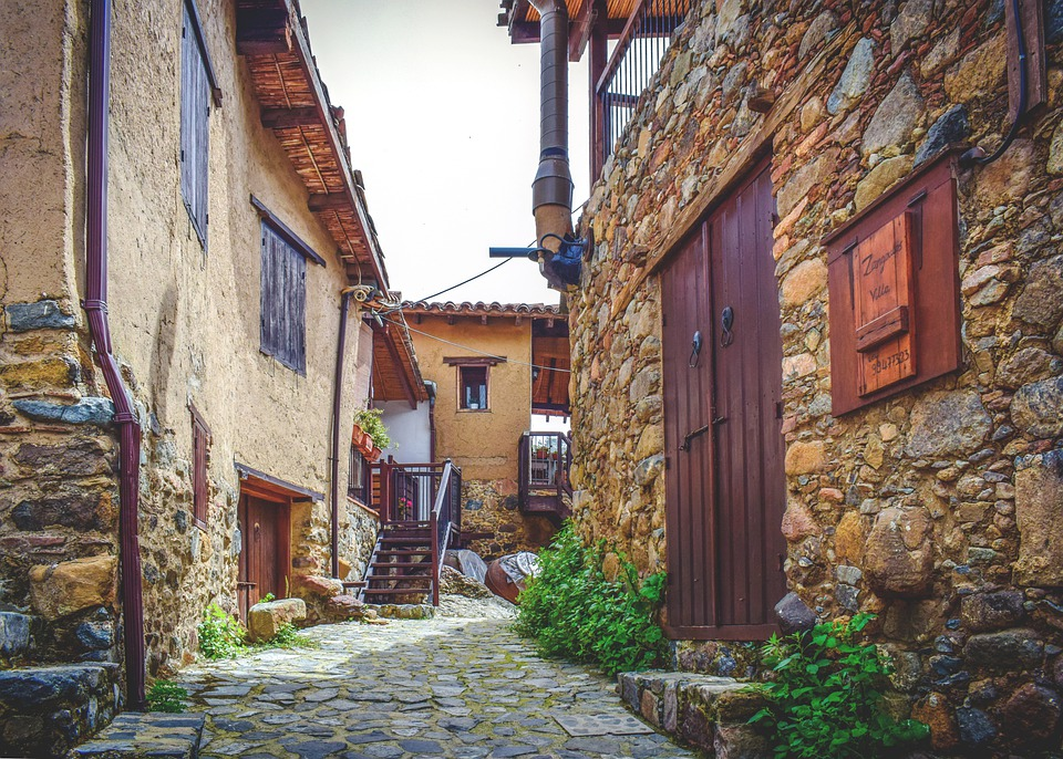 Street, Backstreet, Old Houses, Stone, Architecture