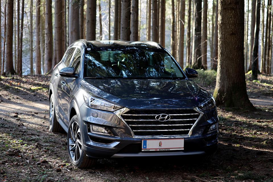 Auto, Hyundai, Dynamic, Windshield, Suv, Suv Vehicle