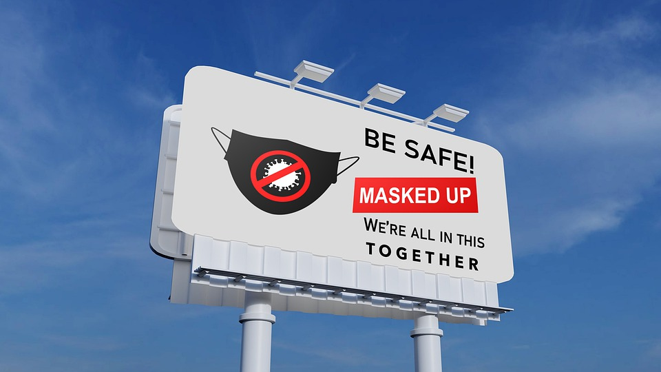 Pandemic, Billboard, Be Safe, Safety, Coronavirus