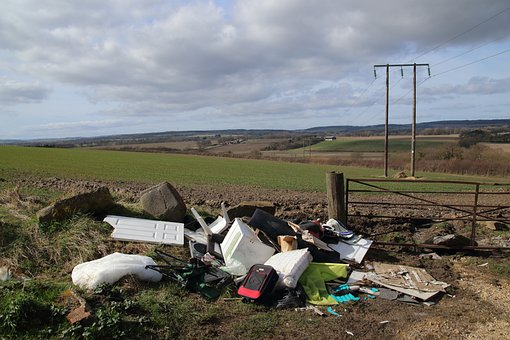 Fly Tipping, Rubbish, Garbage, Crime