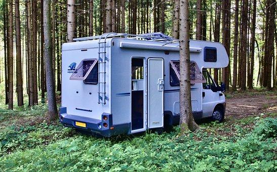 Motorhome, Camper, Mobile, Camping