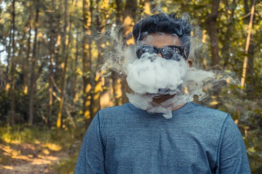 Vape, Smoking, Forest, Vaping, Vapor