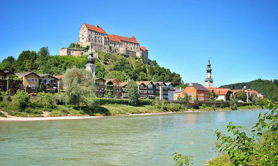 Ausflug nach Burghausen - eine Schutzfeste über der Salzach