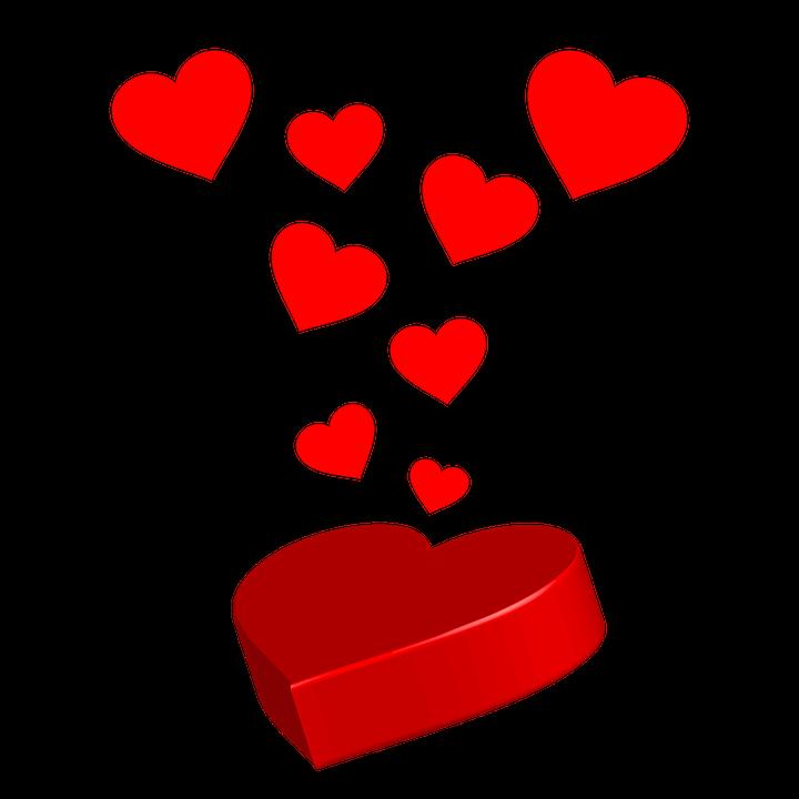 Coeur Rouge Imprimer - Image gratuite sur Pixabay