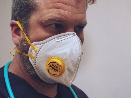 マスク, 口ガード, 保護マスク, 伝送, 病気, Covid-19