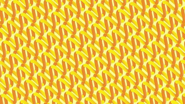 Helix, Rna, Pattern, Zigzag, Lines