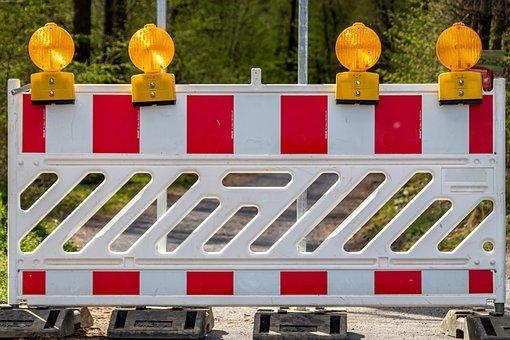 Durchfahrt, Verboten, Stop, Baustelle