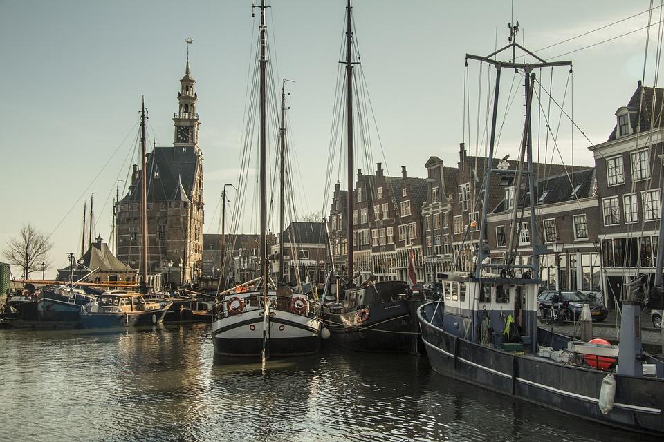 Netherlands, Hoorn, Fishing Village, North Holland