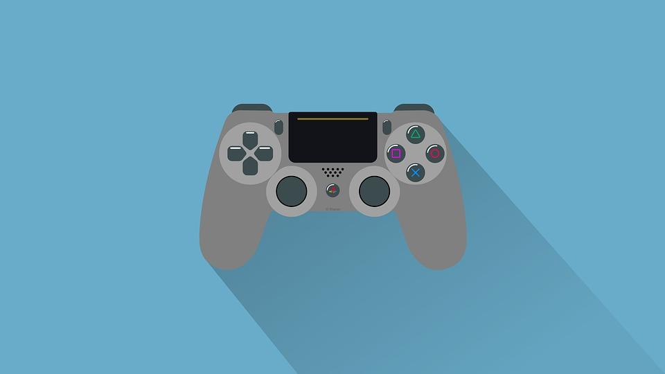 Playstation, Ps4, Juegos, Controlador, Consola, Jugar
