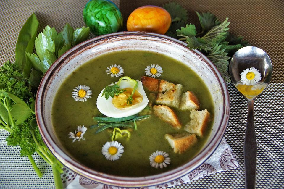Vernal, Soup, Herb, Cream, Home, Kitchen, Vegetable