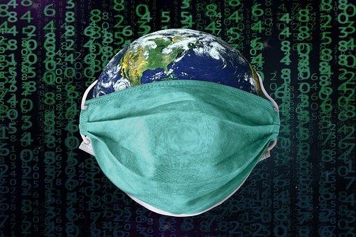 地球, コロナ, Coronavirus, Covid-19, ウイルス