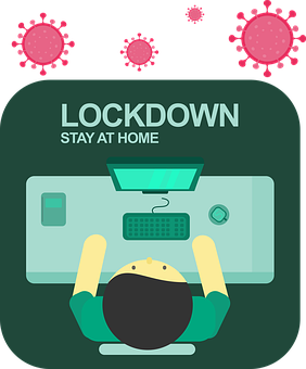Lockdown, Stay At Home, Stay Home
