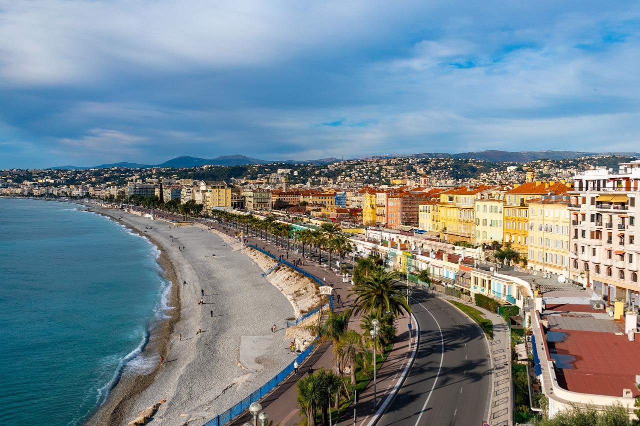 марсель фото города и пляжа место