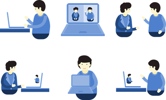 Video Conference, Video Call, Skype