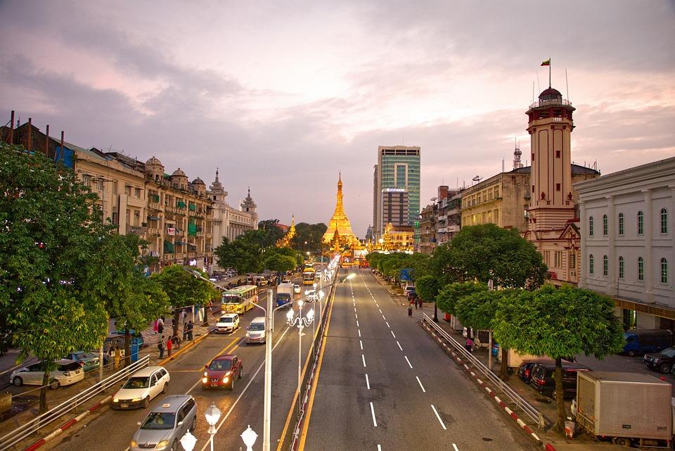 Yangon, Shwedagon, Sulepagoda, Myanmar, Buddha, Pagoda
