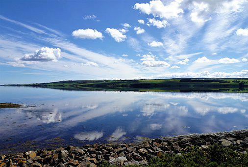 Scotland, Reflection, Loch, Roadtrip