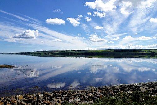 Scotland, Reflection, Loch, Roadtrip