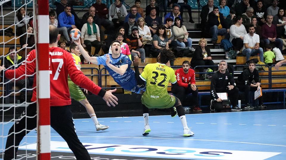 Handball, Man, Balonmano, Throw, Model, White, Sport
