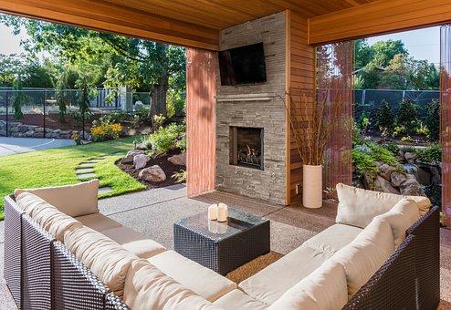 Patio, Backyard, Deck, Porch, Garden