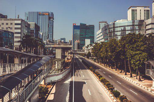 Ville, Le Trafic, Jakarta, Route