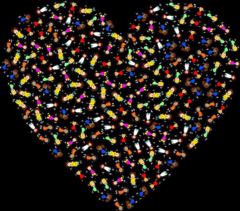 Enfants Coeur Les Garçons - Images vectorielles gratuites sur Pixabay