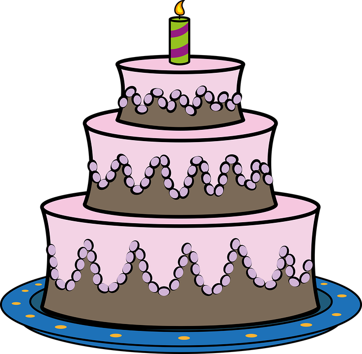 Astonishing Birthday Cake Pie Free Vector Graphic On Pixabay Funny Birthday Cards Online Alyptdamsfinfo
