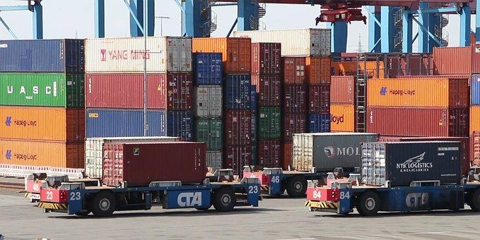 Muelle, Barco, Mensajero, Exportación