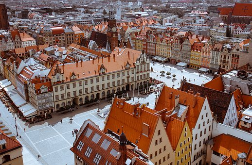 Old Town, The Market, Wrocław