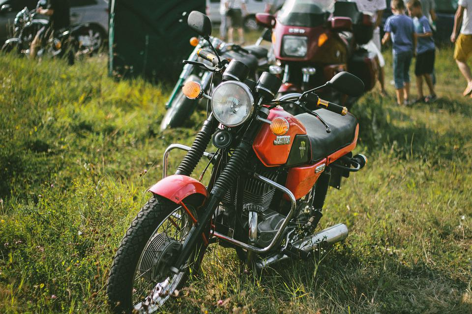 オートバイ、バイク、ホイール、輸送