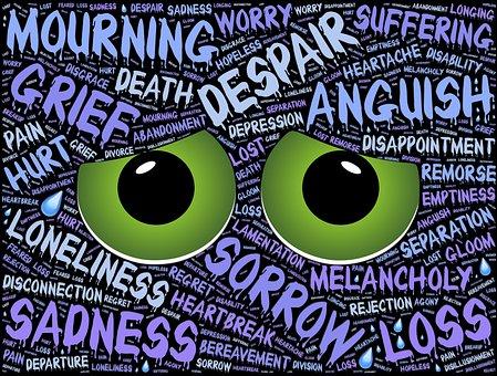 Despair, Depression, Sadness, Alone