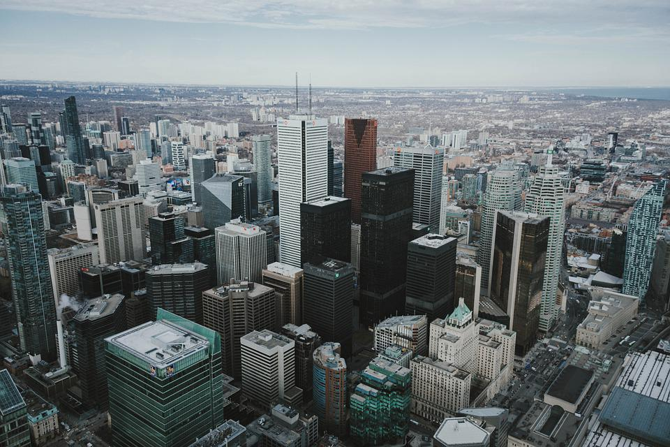 Buildings, City, Cityscape, Skyscraper, Toronto, Canada