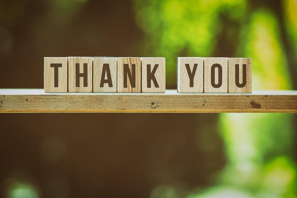 Danke, Bedanken, Dankeschön, Feedback, Buchstaben
