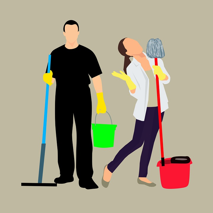 Cleaning, Service, Cleaner, Business, House Cleaning