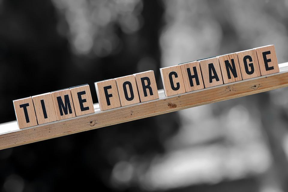 Tiempo Para Un Cambio, Nuevas Formas, Letras, Palabras