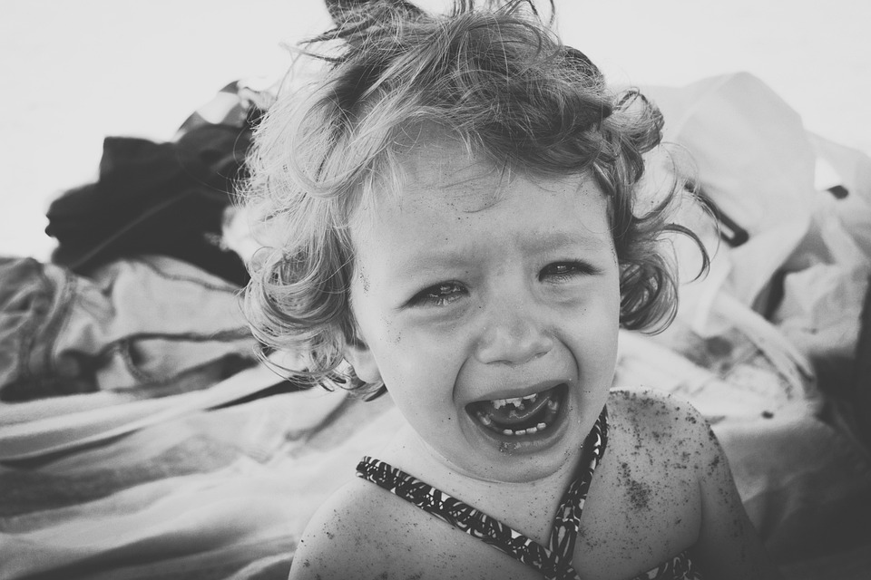 Baby, Cry, Sad, Emotions, Crying, Girl, Tears, Child. What to do when your kids are sad?