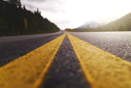Strada, Autostrada, Viaggio, Asfalto