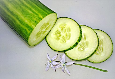 Cucumber, Vegetables, Green Cucumber