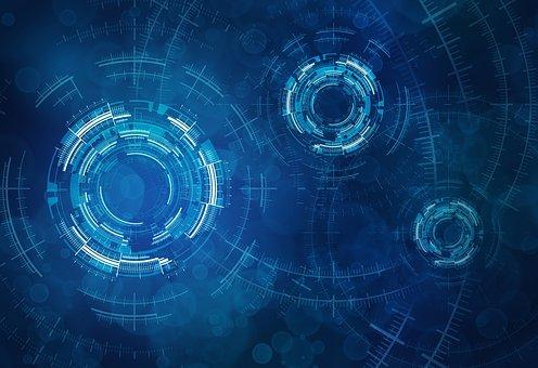 技術, 円, 要約, 科学, スペース, アナリティクス, 未来の, デザイン