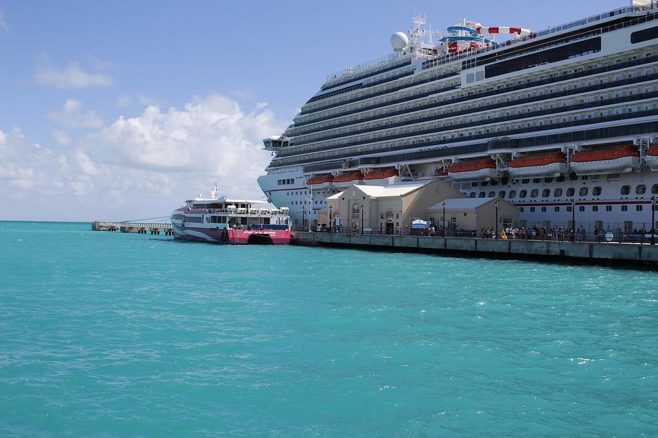 巡航, 百慕大, 旅行, 海洋, Turqouise, 蓝色旅行