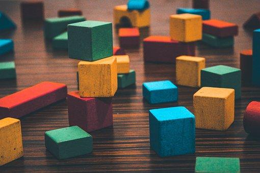 Building Blocks, Creative, Math Manipulatives, Colors, Toys