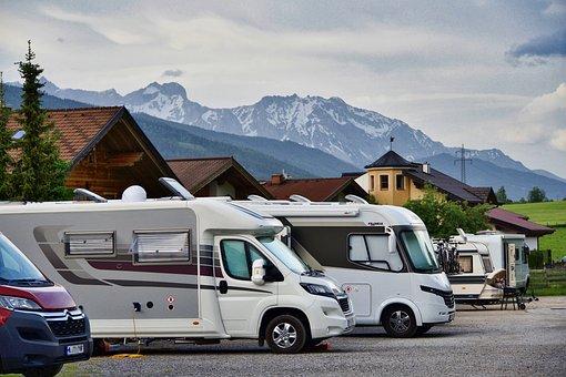 Camping, Motorhome, Traveling, Camper