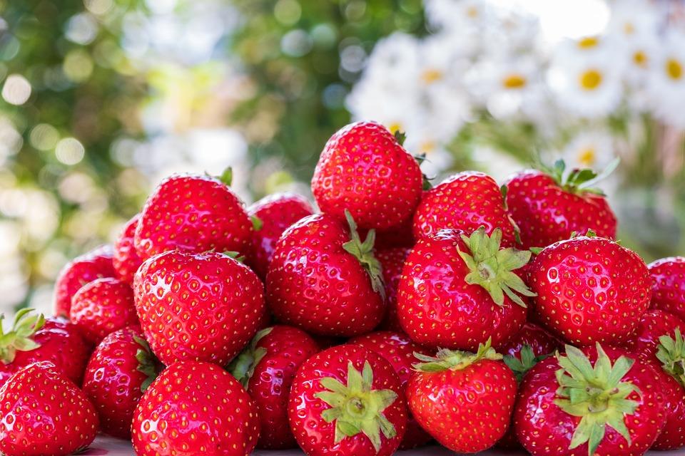 Truskawki, Czerwony, Owoców, Jeść, Żywność, Słodki