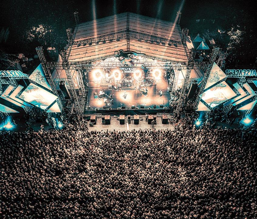 Concert, Music, Festival, Crowd, Performance, Public