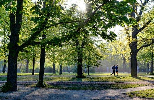 実行, 公園, フィットネス, ジョギング, スポーツ, アクティブ, 健康
