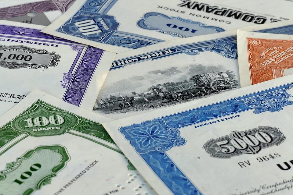 Historical Stock, Securities, Certificates, Fund, Bonds