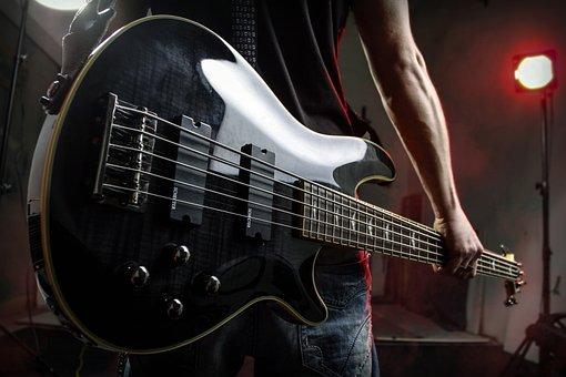 Bass, Bass Guitar, Bass Player, Music